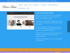 Bruno Tritsch est un freelance WOrdPress qui peut sécuriser vos sites