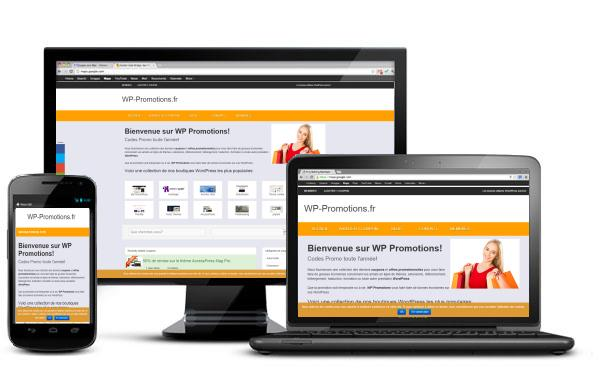 Le plein de promos WordPress