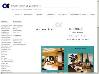 La galerie Corinne Le Monnier
