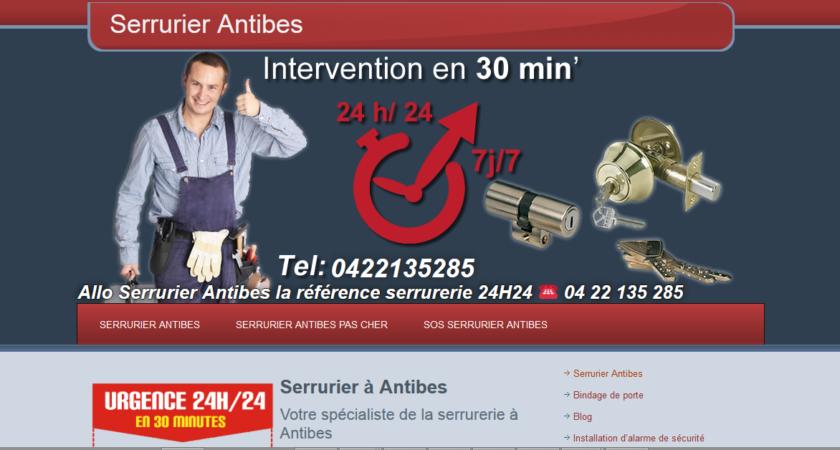 Professionnel du dépannage d'urgence à Antibes