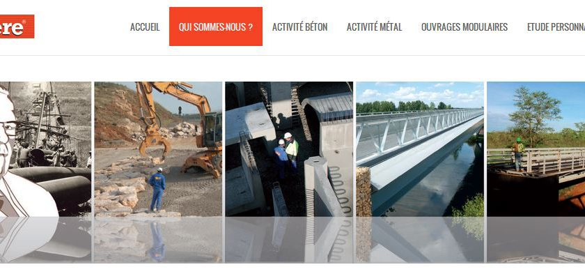 Matière : Entreprise de construction des ponts et des passerelles