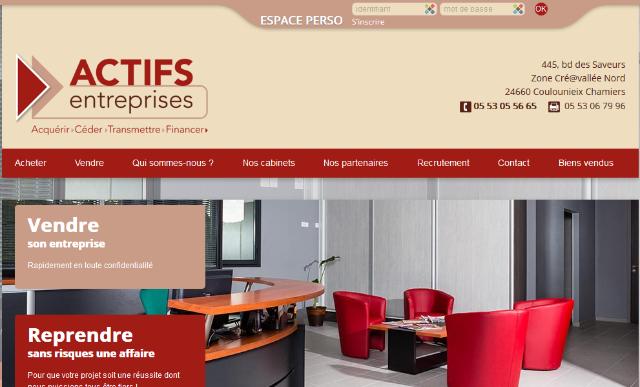 Actifs Entreprises : Immobilier commercial à Périgueux