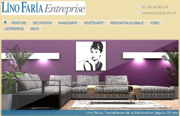 Lino Faria : entreprise de révonation