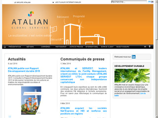 Atalian: leader du multiservice