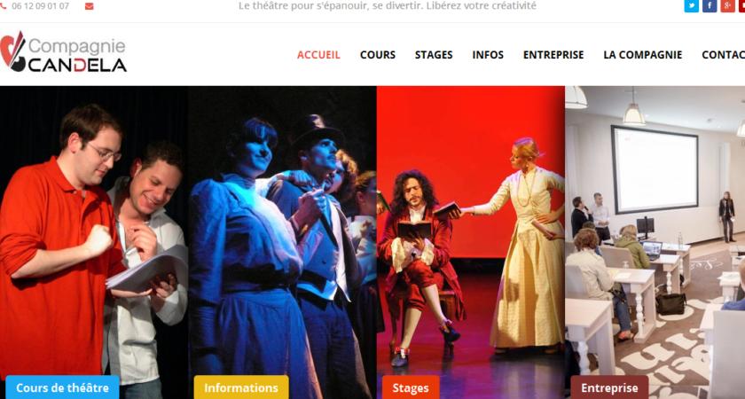 Formation en théâtre avec la Compagnie Candela