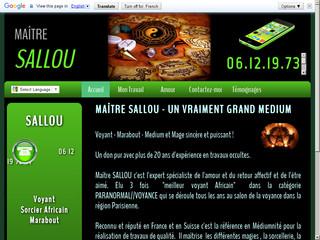 Marabout Sallou: médium africain