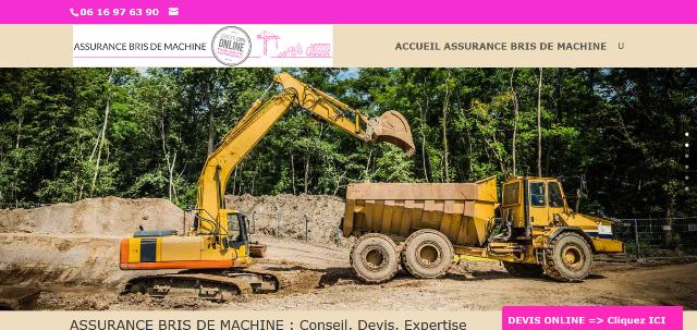 Les pros de l'assurance bris de machine en France