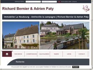 Office notarial des maîtres BERNIER et PATY