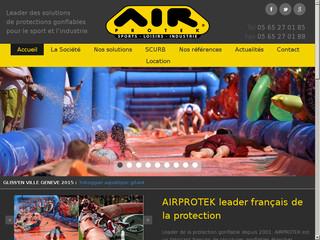 Airprotek: spécialiste des structures gonflables