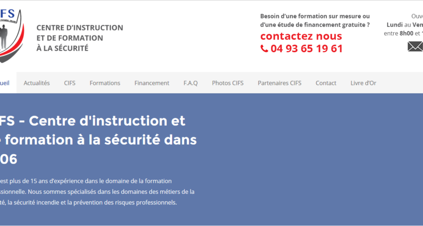 Centre d'Instruction et de Formation à la Sécurité