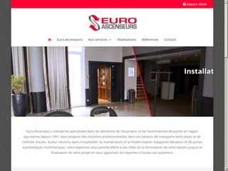 Euro Ascenceurs: Entreprise ascenseur région parisienne