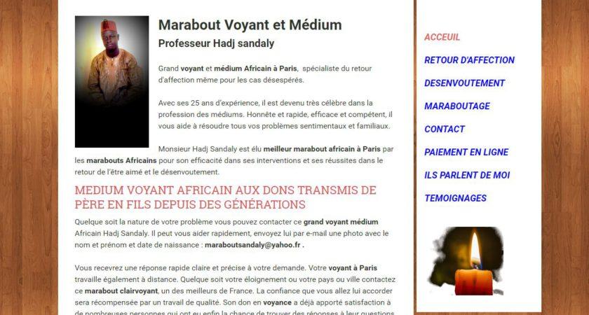 Marabout voyant et médium africain à Paris