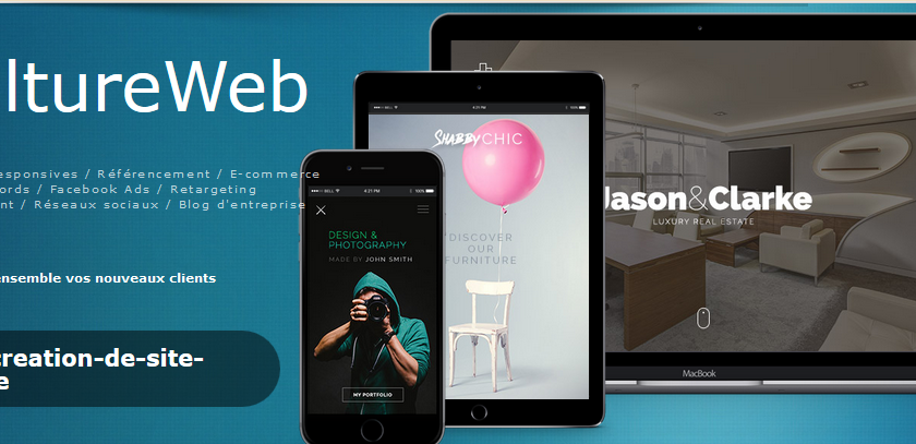 CultureWeb : Obtenez la visibilité que vous désirez sur internet
