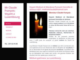 Professeur Claude François: marabout en luxembourg