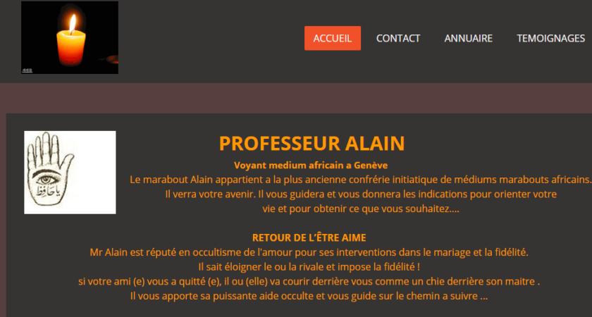 Professeur Alain : Puissant voyant medium africain en Suisse