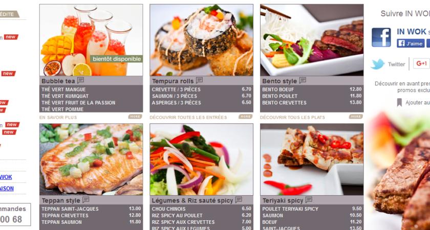 Restaurant Wok Paris pour les mets asiatiques