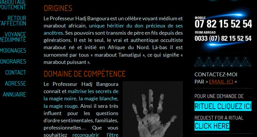 Marabout Bangoura, la solution à tous vos problèmes