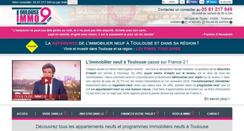 immobilier neuf à Toulouse