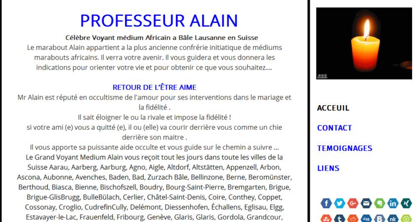Marabout Alain pour tous vos problèmes