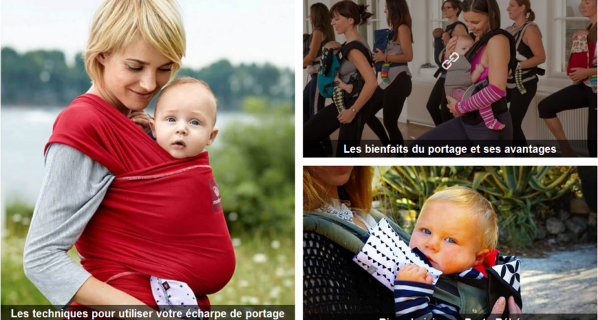 Portebebe.online, votre porte bébé ou écharpe de portage au meilleur prix