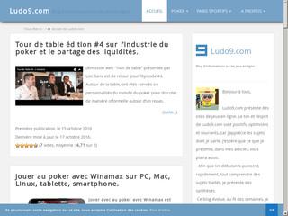 Informations sur les jeux en ligne
