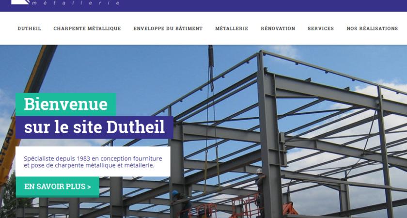 Dutheil: entreprise de construction métallique