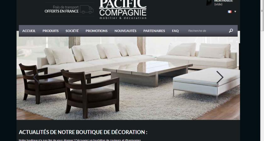 Pacific Compagnie, le décorateur qui vous satisfait!
