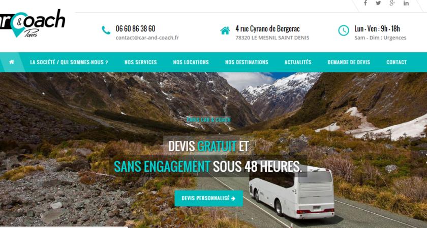 Location Car Paris, entreprise de location de car sur Paris
