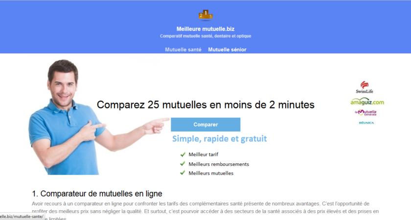 Comparateur de mutuelle gratuit