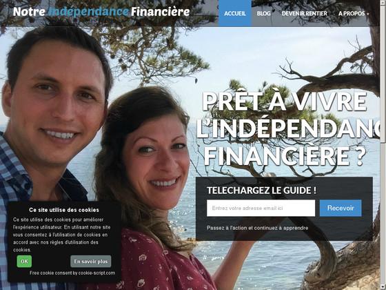 Notre indépendance financière