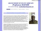 Professeur BAFODE, marabout et médium africain