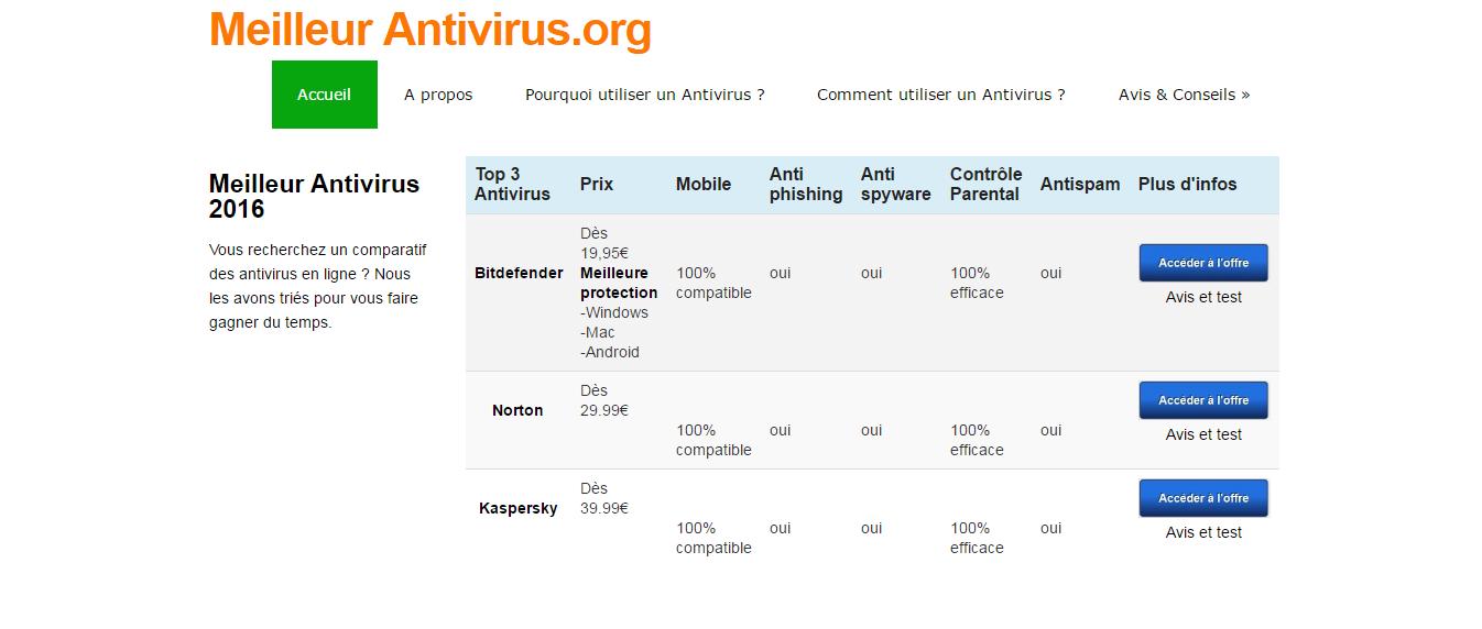 retrouvez le meilleur comparateur d 39 antivirus en ligne. Black Bedroom Furniture Sets. Home Design Ideas
