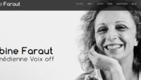 Sabine Faraut, le site de la comédienne voix off