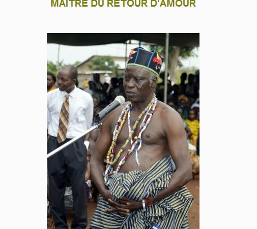 Maitre Gomez: Le grand marabout du vaudou africain