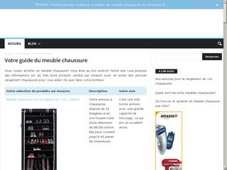 Guide de meubles pour chaussures