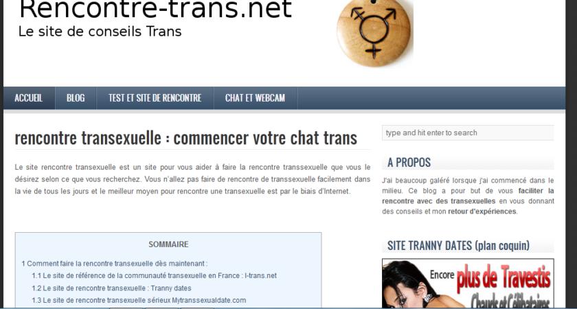Rencontre-trans, comment rencontrer des transsexuels