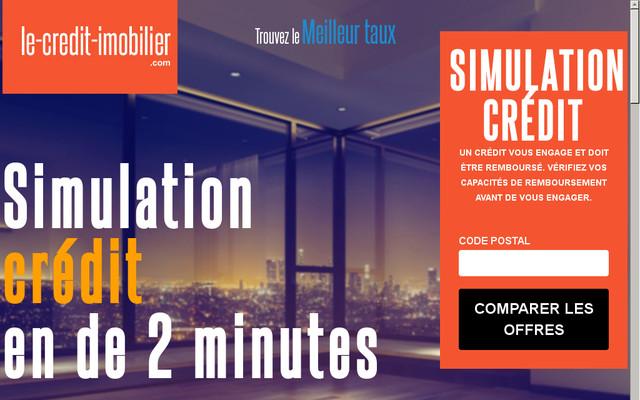 La simulation gratuite de votre crédit immobilier