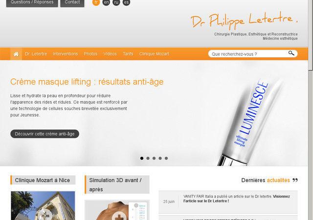 philippeletertre.com: la passion de la chirurgie esthétique