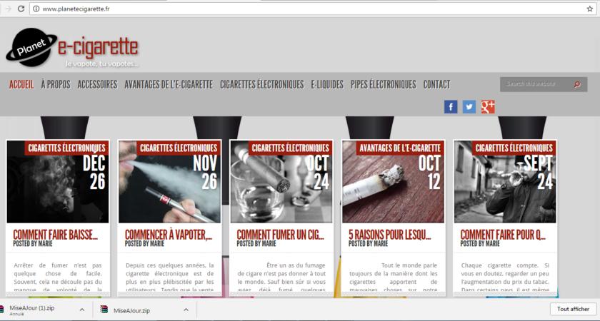 Tout savoir sur les cigarettes électroniques.