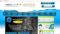 Matériels et équipements d'aquagym au meilleur prix sur Aquagyms.fr.