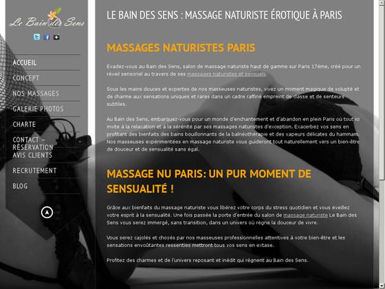 Le Bain des Sens: pour un massage naturiste réussi