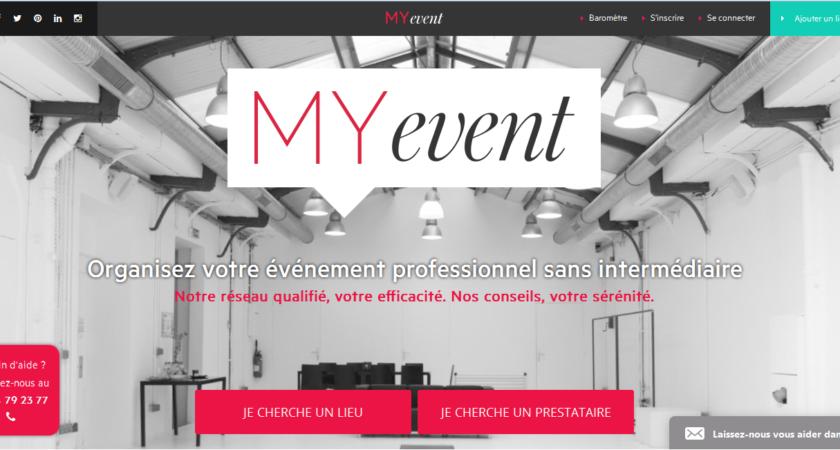 My Event : organisez votre événement professionnel sans intermédiaire