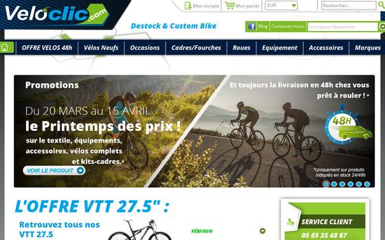 Veloclic : votre boutique de vente en ligne de vélo de qualité