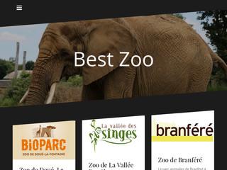 Tout sur les meilleurs zoos de France