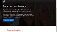 ZoneSeniors.com : site de rencontre séniors