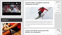 Blog pour les adeptes de sport