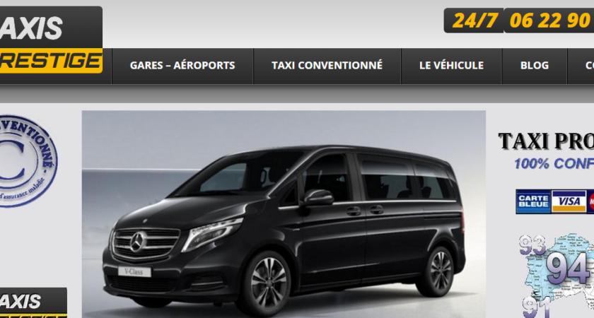 Taxis KD Prestige : taxi traditionnel et conventionné