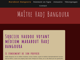Hadj Bangoura: marabout opérant dans la Corse