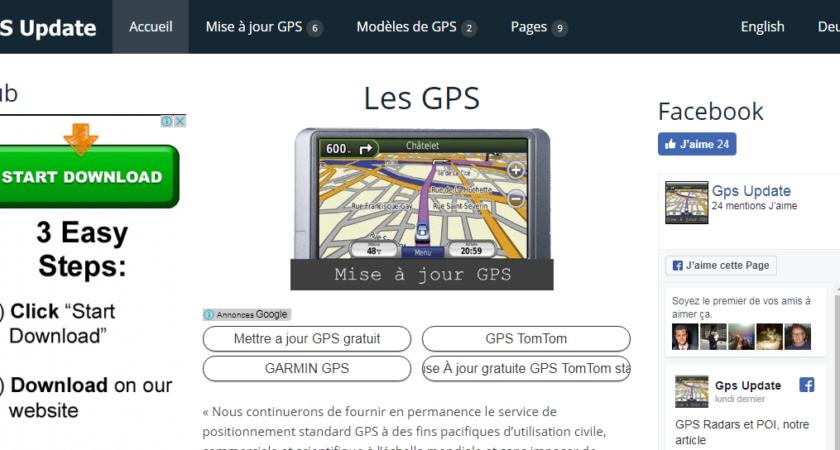 Gps-update.com : un meilleur service de mise à jour
