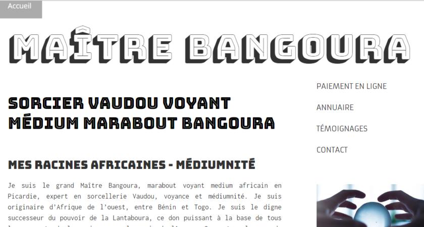 Professeur Bangoura : un marabout voyant hors-pair